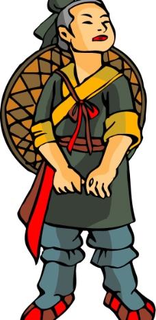 卡通古代人物4图片
