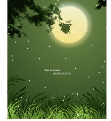 晚風秋月圖片
