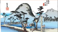 日本浮仕绘与彩绘[风景和人物]图片
