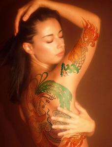 女人纹身图片