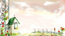 绿色屋顶图片