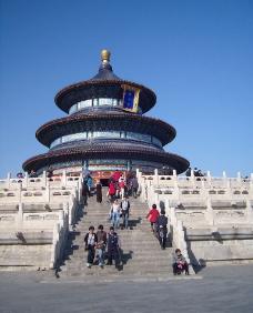 北京天坛祈年殿图片
