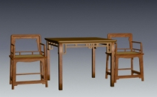 明清桌椅椅子圖片