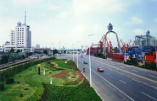 环境整洁的港区图片