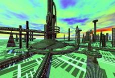 科幻世界  基地图片