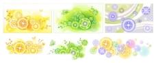 活泼色彩图案矢量素材1图片