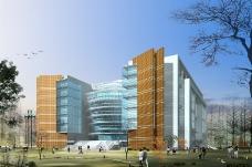 安徽财贸学院龙湖东校区校园总体规划设计0007