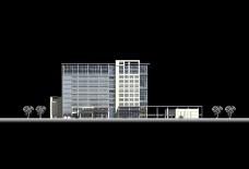 长沙市财政局机关大院及办公楼设计方案0022