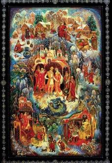 俄罗斯神话故事图片