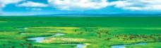 锡林郭勒大草原图片