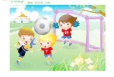 儿童运动图片