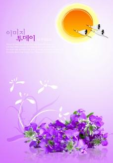 鹤跟花图片