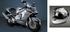 矢量摩托车头盔图片
