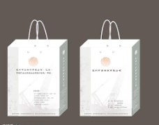 建筑行业手提袋设计图片