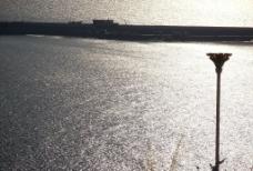 海上黄昏图片