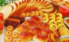 面包组合图图片