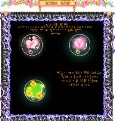 水晶花心图片