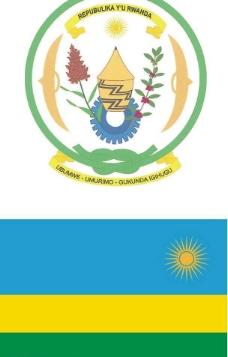 卢旺达国旗国徽图片