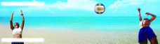 沙滩排球图片
