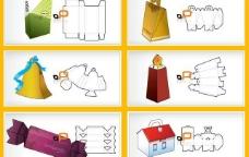 25款实用包装刀模源文件矢量素材矢量图图片