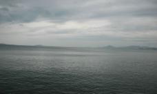 三亚湾水面图片