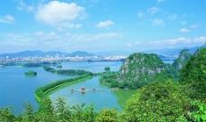 肇庆七星岩-仙女湖图图片