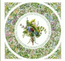 手绘花卉花边系列图片