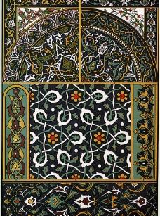 外国古典纹样图片