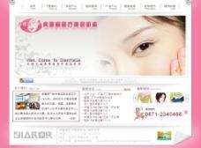整形美容网站图片