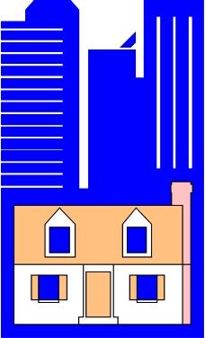 卡通建筑0154