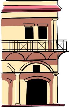 卡通建筑0406