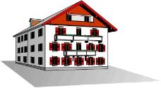 卡通建筑0214