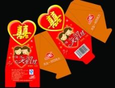 喜糖包装盒子图片