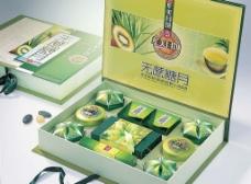 华美无蔗糖月内置月饼礼盒图片