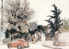 萧邦故居图片