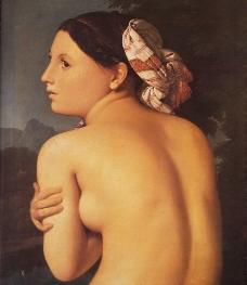 安格尔油画作品局部图片