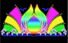 霓虹灯样式图片