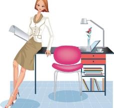 时尚职业女性05图片