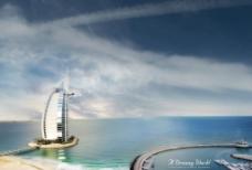 海边的超豪华建筑图片