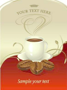 欧式咖啡海报图片