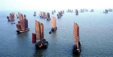 太湖帆影图片