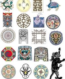 古老韩国文化图片