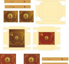 金装月饼盒图片