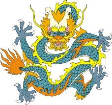 龙纹百龙夺珠0026
